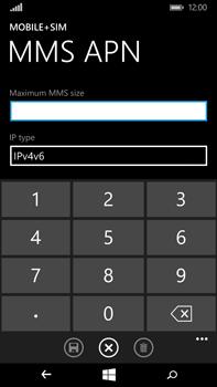 Microsoft Lumia 640 XL - MMS - Manual configuration - Step 11