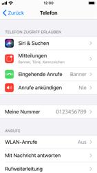 Apple iPhone SE - iOS 14 - WiFi - WiFi Calling aktivieren - Schritt 5