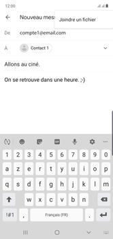 Samsung Galaxy Note 10 - E-mails - Envoyer un e-mail - Étape 11