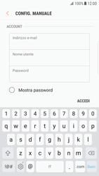 Samsung Galaxy S6 Edge - Android Nougat - E-mail - configurazione manuale - Fase 8