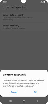Samsung Galaxy A50 - Network - Manual network selection - Step 9