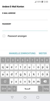 LG G6 - Android Oreo - E-Mail - Konto einrichten - Schritt 8