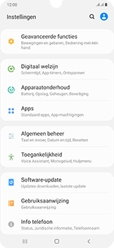 Samsung Galaxy A50 - Software update - update installeren zonder PC - Stap 4