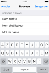 Apple iPhone 4S iOS 7 - E-mail - configuration manuelle - Étape 17