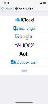 Apple iPhone X - iOS 12 - E-mail - Configuration manuelle - Étape 6