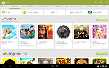 Sony Xperia Tablet Z LTE - Apps - Herunterladen - 5 / 21