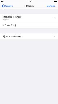 Apple iPhone 7 Plus - iOS 13 - Prise en main - Comment ajouter une langue de clavier - Étape 6