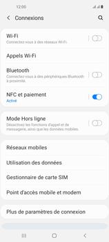 Samsung Galaxy A21s - Internet et connexion - Désactiver la connexion Internet - Étape 5