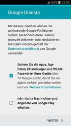 Samsung Galaxy J5 - Apps - Konto anlegen und einrichten - 16 / 20