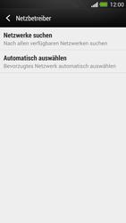 HTC One - Netzwerk - Manuelle Netzwerkwahl - Schritt 6