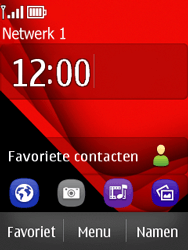 Nokia Asha 300 - Netwerk - Handmatig netwerk selecteren - Stap 12