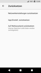 Sony Xperia XZ - Fehlerbehebung - Handy zurücksetzen - 8 / 12