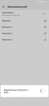 Huawei P30 - Netzwerk - Manuelle Netzwerkwahl - Schritt 10