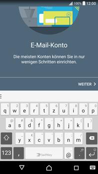 Sony F3211 Xperia XA Ultra - E-Mail - Konto einrichten - Schritt 7