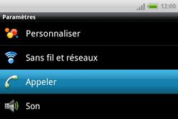 HTC A810e ChaCha - Messagerie vocale - configuration manuelle - Étape 5