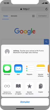 Apple iPhone X - Internet - Navigation sur Internet - Étape 5