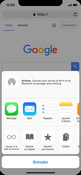 Apple iPhone X - Internet et roaming de données - Navigation sur Internet - Étape 6