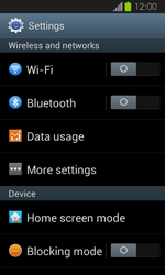 Samsung Galaxy Express - Network - Manual network selection - Step 4