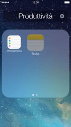 Apple iPhone 5 iOS 7 - Operazioni iniziali - Personalizzazione della schermata iniziale - Fase 5