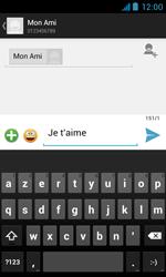 Bouygues Telecom Bs 402 - Contact, Appels, SMS/MMS - Envoyer un SMS - Étape 9