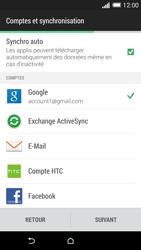 HTC One (M8) - Premiers pas - Créer un compte - Étape 27