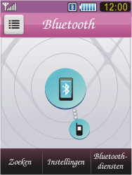 Samsung S7070 Diva - bluetooth - headset, carkit verbinding - stap 9