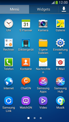 Samsung Galaxy S 4 Mini LTE - E-Mail - Manuelle Konfiguration - Schritt 3