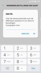 Samsung Galaxy S7 Edge - Android N - Beveiliging en ouderlijk toezicht - Hoe wijzig ik mijn SIM PIN-code - Stap 10