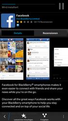 BlackBerry Leap - Apps - Konto anlegen und einrichten - 13 / 14