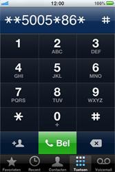 Apple iPhone - voicemail - handmatig instellen - stap 6