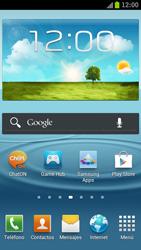 Samsung I9300 Galaxy S III - Internet - Ver uso de datos - Paso 1