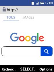 Alcatel 3088X - Internet et connexion - Naviguer sur internet - Étape 11