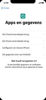 Apple iPhone X - Toestel - Toestel activeren - Stap 15