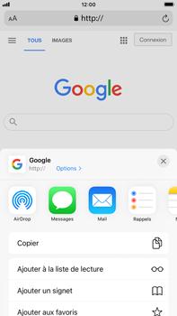 Apple iPhone 8 Plus - iOS 14 - Internet et roaming de données - Navigation sur Internet - Étape 6