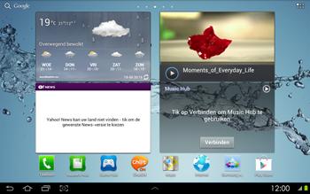 Samsung P5100 Galaxy Tab 2 10-1 - MMS - afbeeldingen verzenden - Stap 1