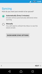 Sony Sony Xperia Z5 (E6653) - E-mail - Manual configuration (outlook) - Step 10