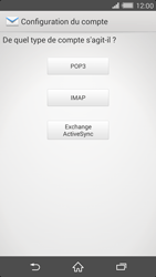Sony Xperia Z2 - E-mail - configuration manuelle - Étape 7