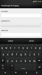 HTC One Max - E-Mail - Konto einrichten - 0 / 0