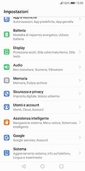 Huawei Mate 10 Pro - Dispositivo - Ripristino delle impostazioni originali - Fase 4