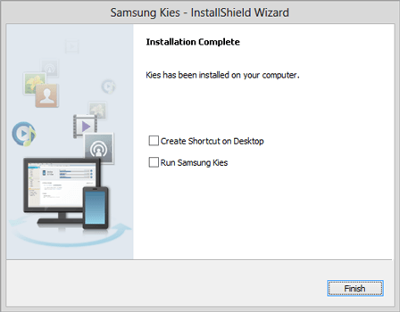 Samsung Galaxy Note 8 - Software - Installing PC synchronisation software - Step 7