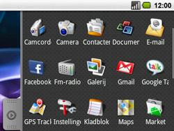 Acer BeTouch E130 - Voicemail - handmatig instellen - Stap 3