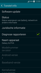 Samsung G850F Galaxy Alpha - Software updaten - Update installeren - Stap 5