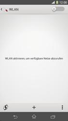 Sony Xperia Z1 - WLAN - Manuelle Konfiguration - Schritt 5
