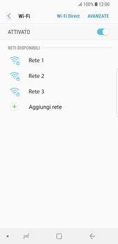 Samsung Galaxy S9 - WiFi - Configurazione WiFi - Fase 7