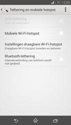 Sony Xperia Z3 Compact 4G (D5803) - WiFi - Mobiele hotspot instellen - Stap 6