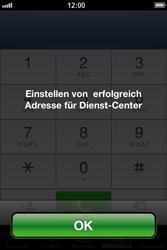 Apple iPhone 4 - SMS - Manuelle Konfiguration - Schritt 7