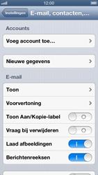 Apple iPhone 5 (iOS 6) - e-mail - handmatig instellen - stap 4