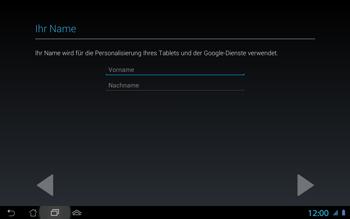 Asus Padfone 2 - Apps - Konto anlegen und einrichten - Schritt 6