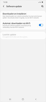 Samsung Galaxy S20 Ultra 5G Dual SIM eSIM SM-G988B - Software updaten - Update installeren - Stap 5
