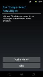 Sony Xperia T - Apps - Konto anlegen und einrichten - Schritt 4